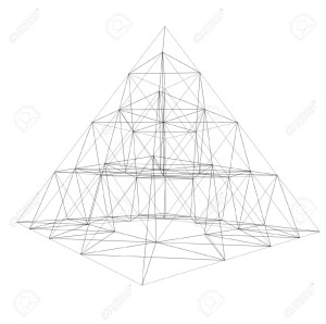 967879-3D-frame-of-pyramid-Conception-of-architecture-and-design--Stock-Photo